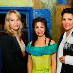 mit Elina Garanca und Anna Netrebko