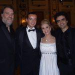mit Bryn Terfel und Rolando Villazón
